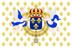 royal standard of the king of france.svg